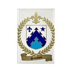 SAINDON Family Crest Rectangle Magnet