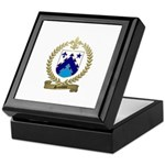 SAINDON Family Crest Keepsake Box