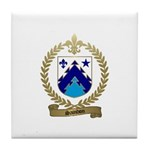 SAINDON Family Crest Tile Coaster