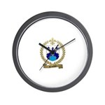SAINDON Family Crest Wall Clock