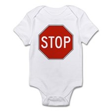 Stop Sign Infant Bodysuit
