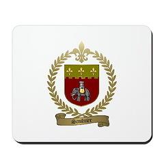 SAULNIER Family Crest Mousepad