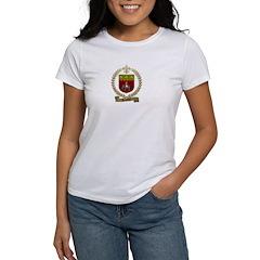 SAULNIER Family Crest Women's T-Shirt