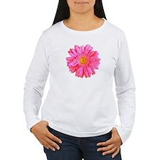 Gerbera (Bright Pink) Women's Long Sleeve T-Shirt