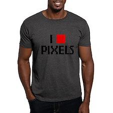 Web Humor Love Pixels T-Shirt