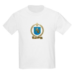 SAUMURE Family Crest Kids T-Shirt
