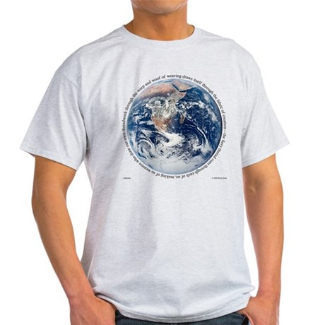 Weaving Ash Grey T-Shirt