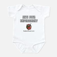 Anti Peta Enforcement Infant Bodysuit
