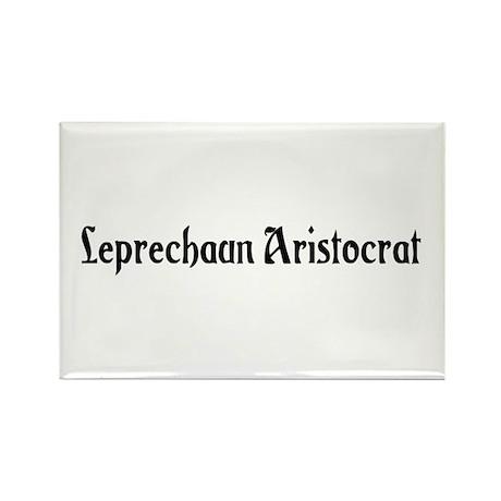 Leprechaun Aristocrat Rectangle Magnet (100 pack)