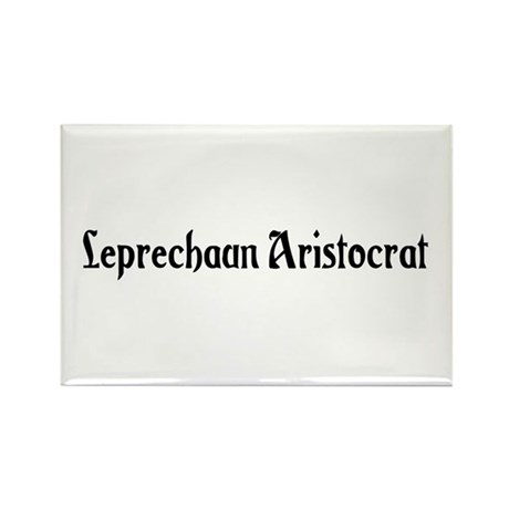 Leprechaun Aristocrat Rectangle Magnet (10 pack)
