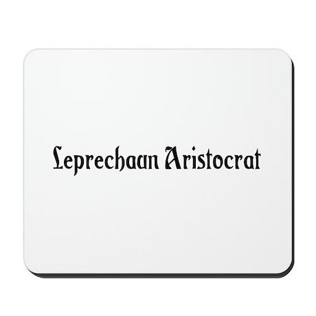 Leprechaun Aristocrat Mousepad
