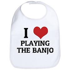 I Love Playing the Banjo Bib