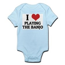 I Love Playing the Banjo Infant Creeper