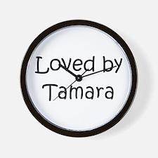 Cute Tamara Wall Clock