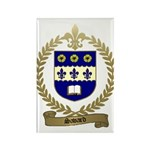 SAVARD Family Crest Rectangle Magnet (100 pack)