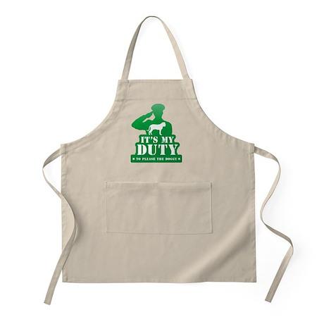 Bullmastiff BBQ Apron