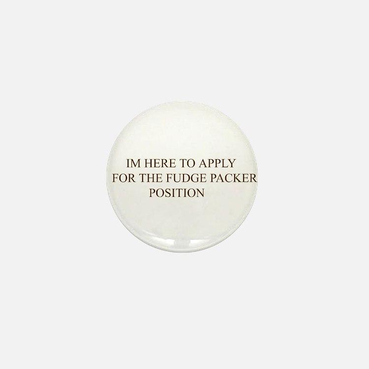 Cute Fudge Mini Button