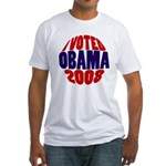 I Voted Obama 2008 Fitted T-Shirt