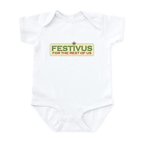 Vintage Retro Festivus Infant Bodysuit