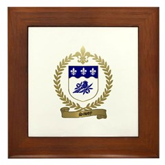 SAVOY Family Crest Framed Tile