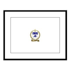 SAVOY Family Crest Large Framed Print
