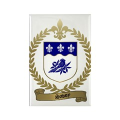 SAVOY Family Crest Rectangle Magnet (10 pack)