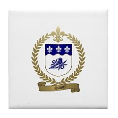 SAVOY Family Crest Tile Coaster