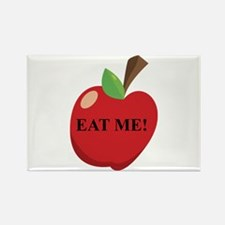 Eat Me Apple Rectangle Magnet