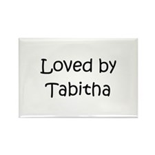Cute Tabitha Rectangle Magnet