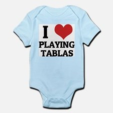 I Love Playing Tablas Infant Creeper