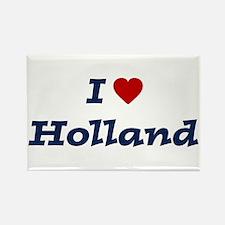 I HEART HOLLAND Rectangle Magnet