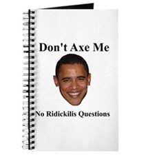 Don't Ask Me Questions Journal