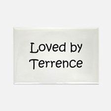 Cute Terrence Rectangle Magnet
