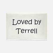 Cute Terrell Rectangle Magnet