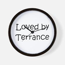 Cute Terrance Wall Clock