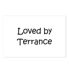 Unique Terrance name Postcards (Package of 8)