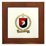 SIMON Family Crest Framed Tile