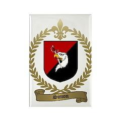 SIMON Family Crest Rectangle Magnet (100 pack)