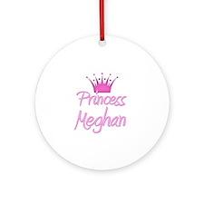 Princess Meghan Ornament (Round)