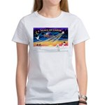 XmasSunrise/Poodle Min Women's T-Shirt