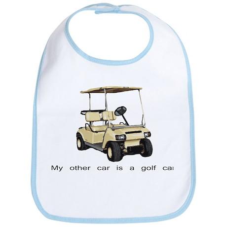my other car is a golf cart Bib