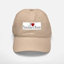 I Love President Obama Baseball Baseball Cap