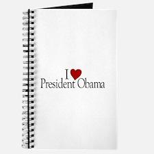 I Love President Obama Journal