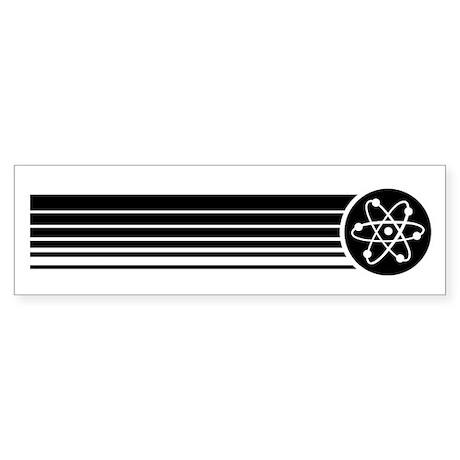 Retro Science Bumper Sticker