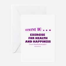 Cool New year resolution Greeting Card