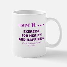 Unique New year resolutions Mug