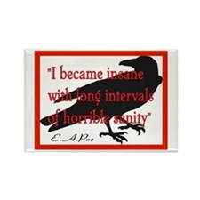 POE QUOTE 2 Rectangle Magnet