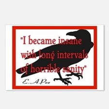 POE QUOTE 2 Postcards (Package of 8)