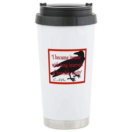 POE QUOTE 2 Stainless Steel Travel Mug