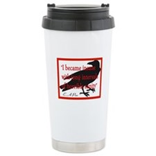 POE QUOTE 2 Travel Mug